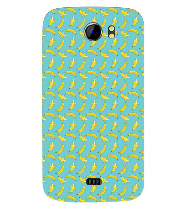 Banana Pattern Back Cover for Micromax A110 Canvas 2