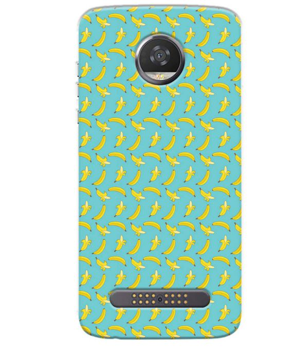 Banana Pattern Back Cover for Motorola Moto Z3 Play