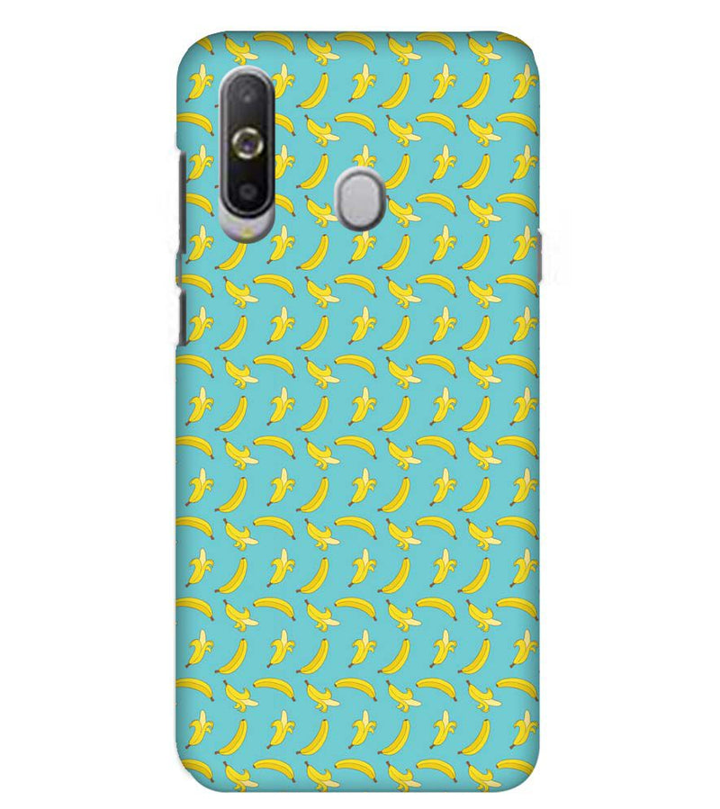 Banana Pattern Back Cover for Samsung Galaxy A8s