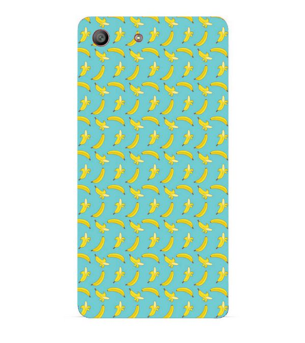 Banana Pattern Back Cover for Sony Xperia M5