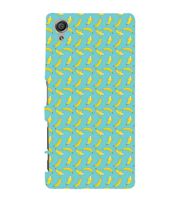Banana Pattern Back Cover for Sony Xperia X