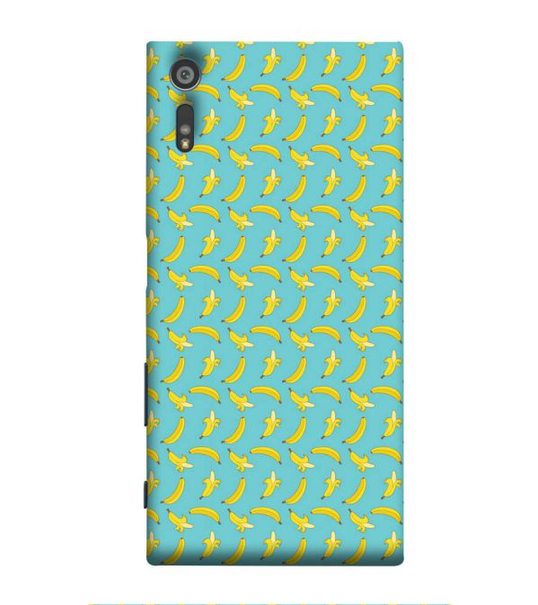 Banana Pattern Back Cover for Sony Xperia XR