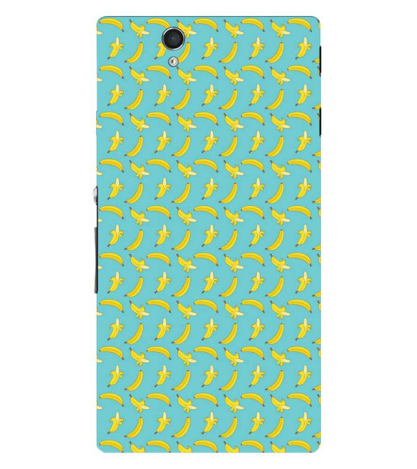 Banana Pattern Back Cover for Sony Xperia Z