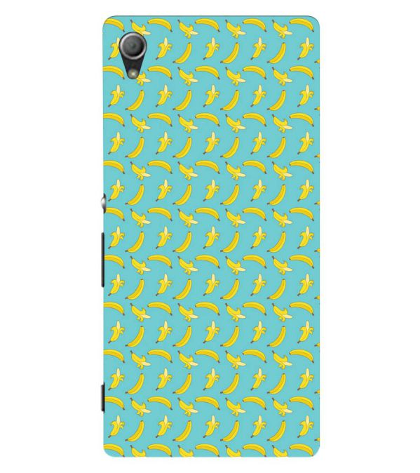 Banana Pattern Back Cover for Sony Xperia Z3+ and Xperia Z4
