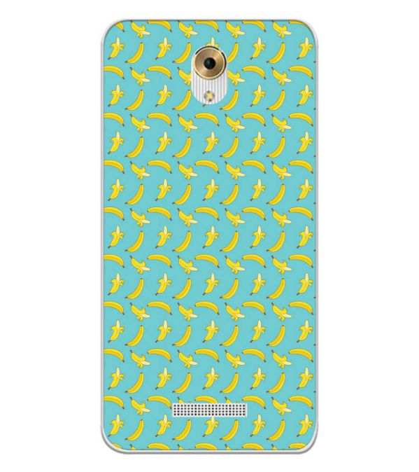 Banana Pattern Back Cover for Coolpad Mega 5M