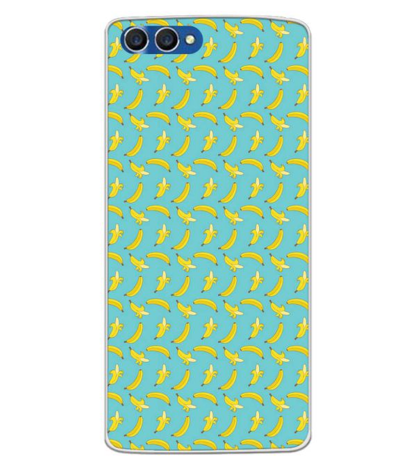 Banana Pattern Back Cover for Homtom H3-Image3
