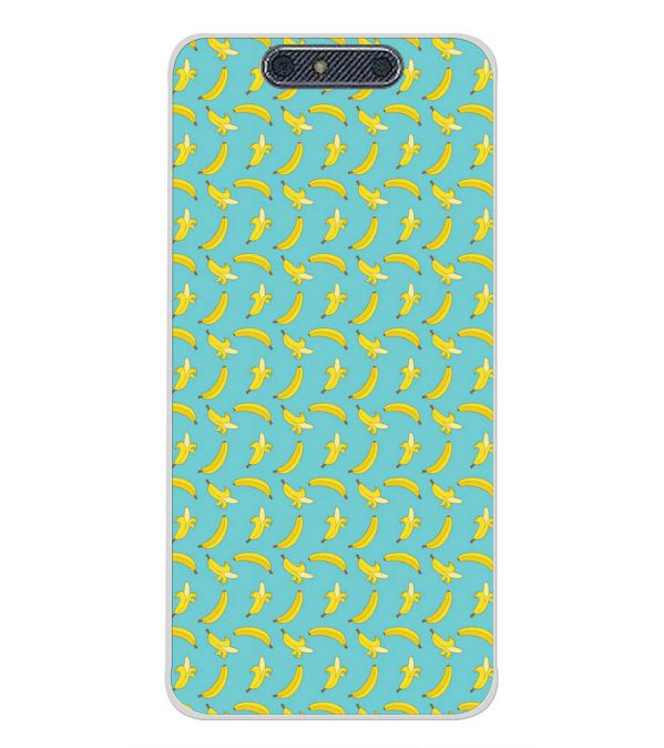 Banana Pattern Back Cover for Micromax Dual 4 E4816-Image3