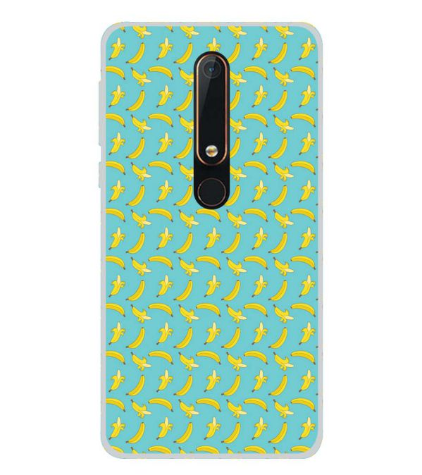 Banana Pattern Back Cover for Nokia 6.1 (2018)-Image3