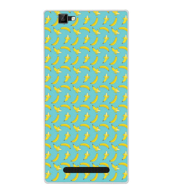 Banana Pattern Back Cover for Xolo Era 1X Pro-Image3