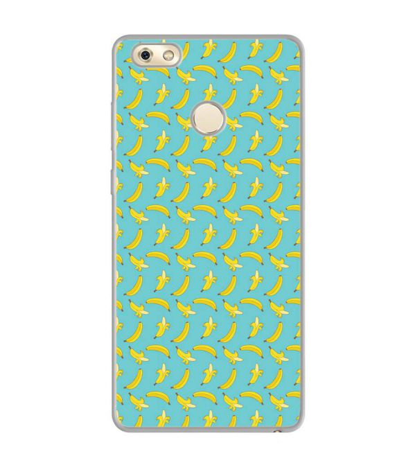 Banana Pattern Soft Silicone Back Cover for Gionee M7 Power