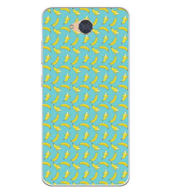 Banana Pattern Soft Silicone Back Cover for Gionee S6Pro