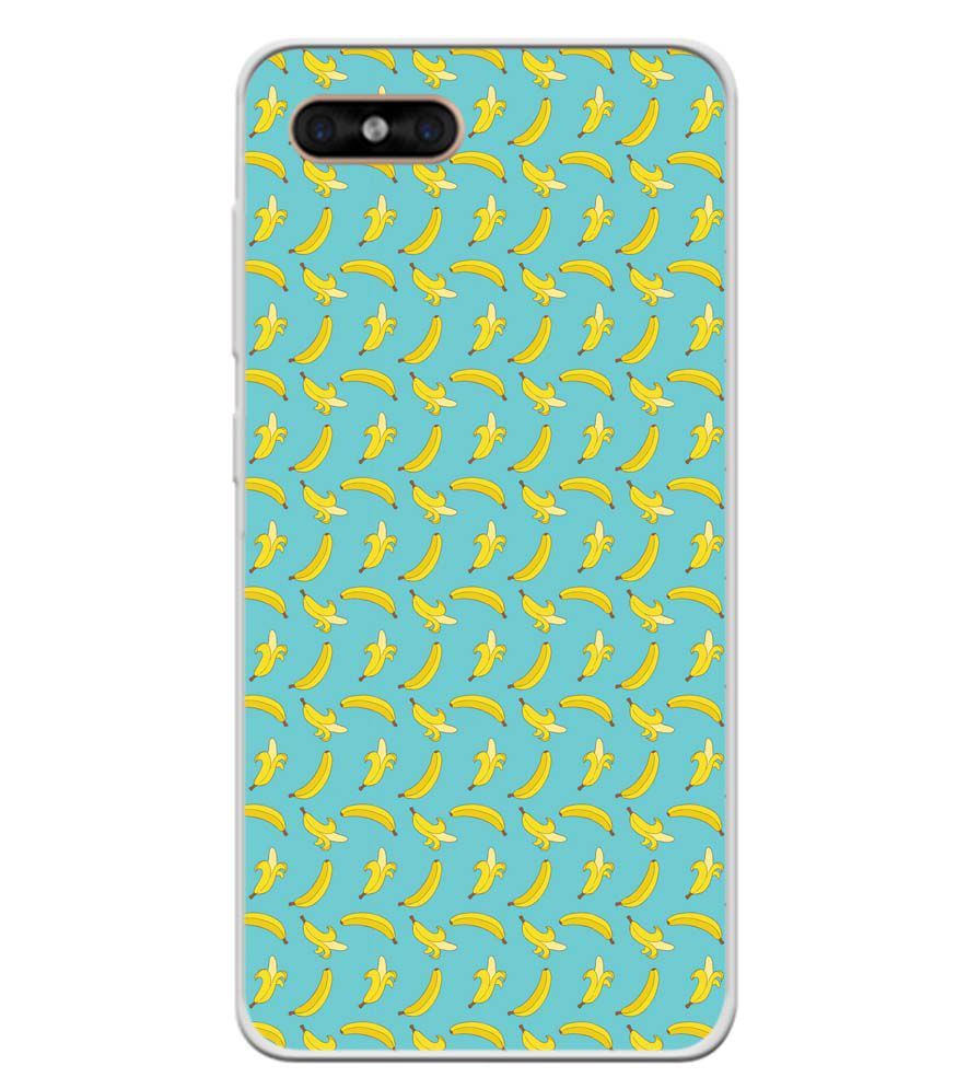 Banana Pattern Soft Silicone Back Cover for Gome C7