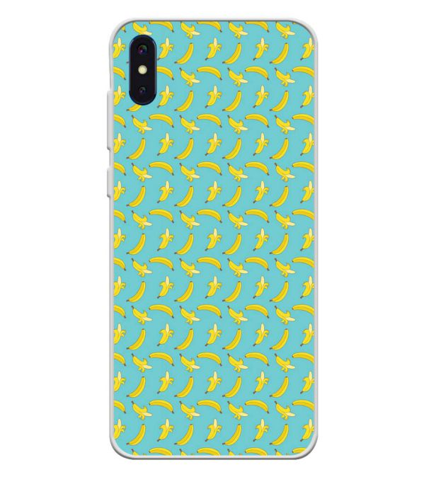 Banana Pattern Soft Silicone Back Cover for iVoomi i2