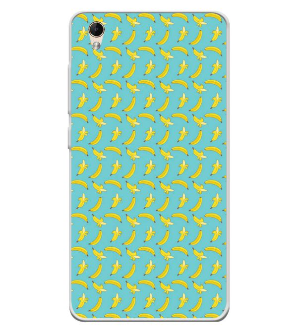 Banana Pattern Soft Silicone Back Cover for Lava Z60