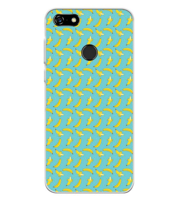 Banana Pattern Soft Silicone Back Cover for Lenovo A5