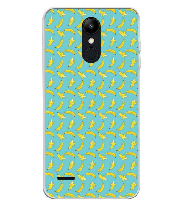 Banana Pattern Soft Silicone Back Cover for LG K9