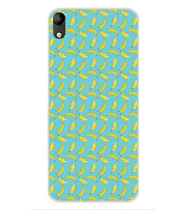 Banana Pattern Soft Silicone Back Cover for Mobistar C1