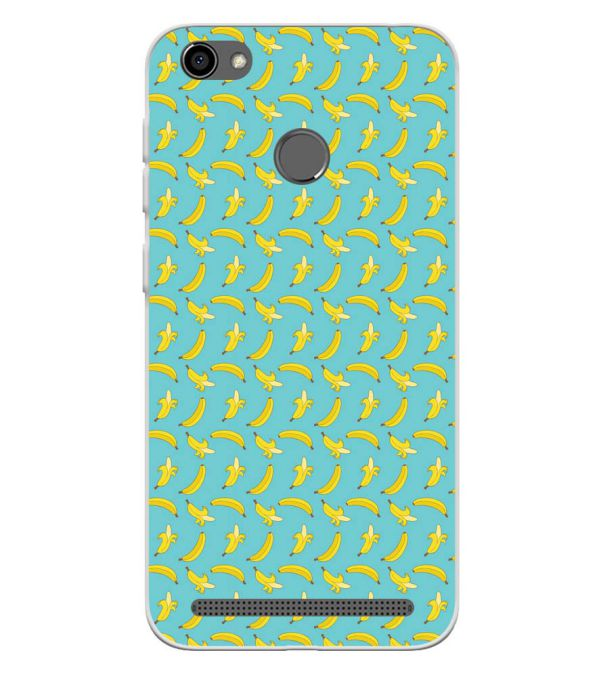 Banana Pattern Soft Silicone Back Cover for Panasonic P85 NXT