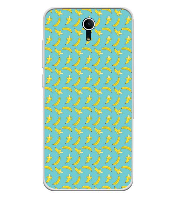 Banana Pattern Soft Silicone Back Cover for Swipe Elite Plus