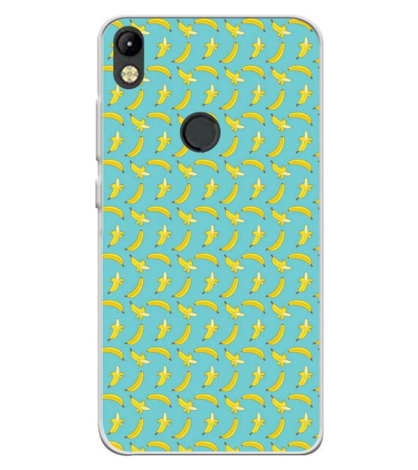 Banana Pattern Soft Silicone Back Cover for Tecno Camon I