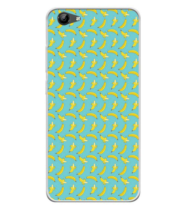 Banana Pattern Soft Silicone Back Cover for Vivo Y71i