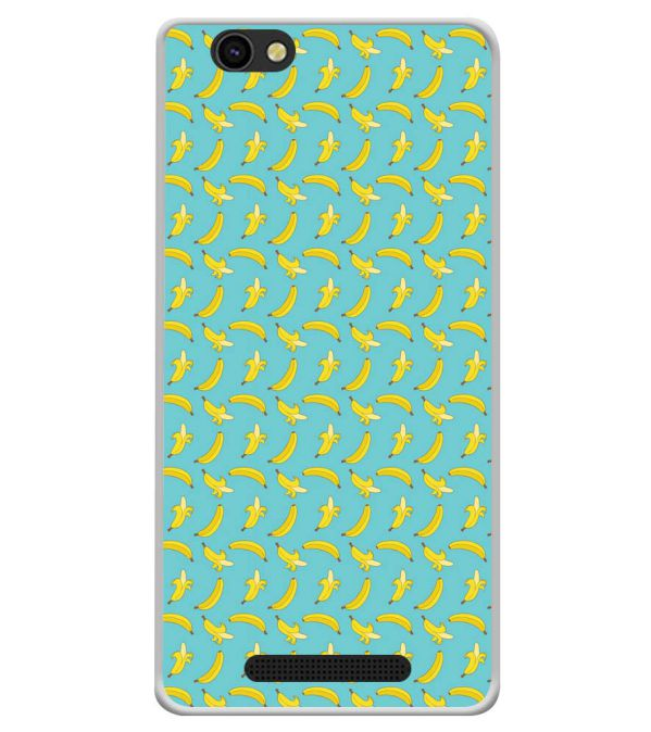 Banana Pattern Soft Silicone Back Cover for Xolo ERA X