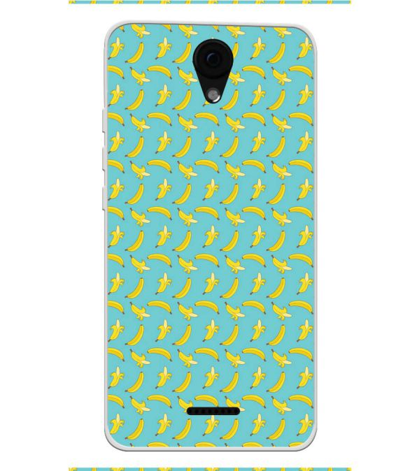 Banana Pattern Soft Silicone Back Cover for Yu Yunique 2 Plus