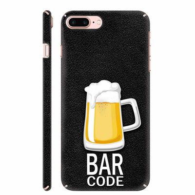 Bar Code Back Cover for Apple iPhone 8 Plus