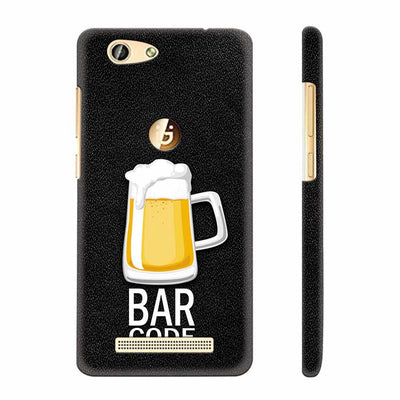 Bar Code Back Cover for Gionee F103 Pro