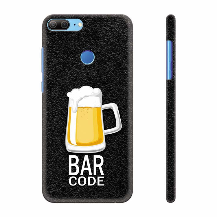 Bar Code Back Cover for Huawei Honor 9 Lite