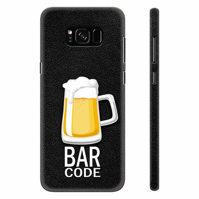 Bar Code Back Cover for Samsung Galaxy S8 Plus