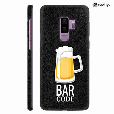 Bar Code Back Cover for Samsung Galaxy S9+ (Plus)