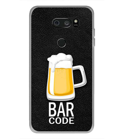 Bar Code Back Cover for LG V30 Plus-Image3