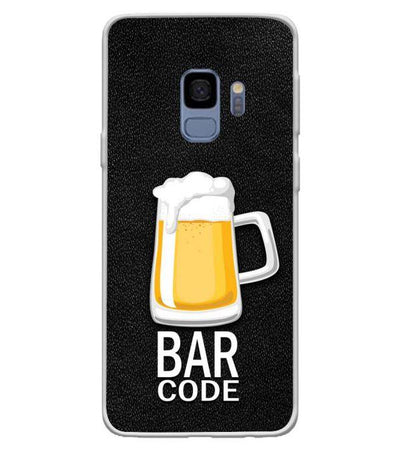 Bar Code Back Cover for Samsung Galaxy S9-Image3