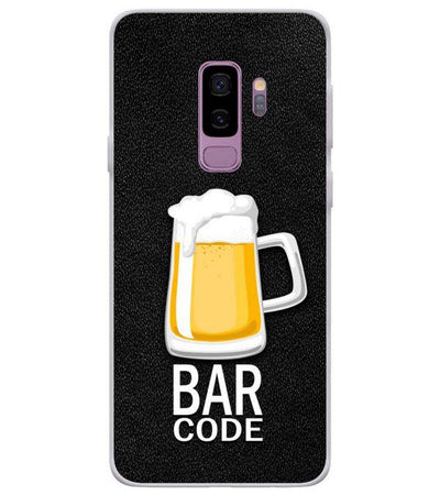 Bar Code Back Cover for Samsung Galaxy S9+ (Plus)-Image3
