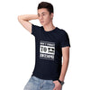 Be Awesome Men T-Shirt-Navy Blue
