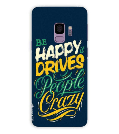Be Happy Back Cover for Samsung Galaxy S9
