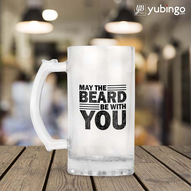 Beard Be with You Beer Mug