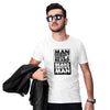 Beard Grows Man Men T-Shirt-White