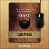 Beard Is Must Mouse Pad-Image2