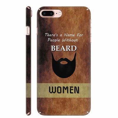 Beard Is Must Back Cover for Apple iPhone 8 Plus