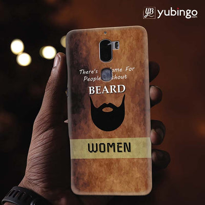 Beard Is Must Back Cover for Coolpad Cool 1-Image2