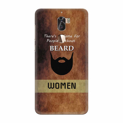 Beard Is Must Back Cover for Coolpad Cool 1