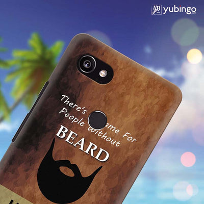 Beard Is Must Back Cover for Google Pixel 2 XL (6 Inch Screen)-Image4