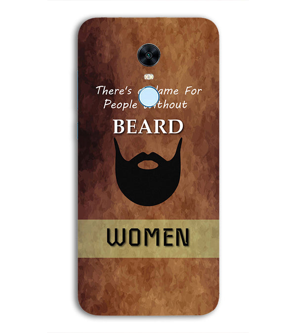 Beard Is Must Back Cover for Xiaomi Redmi 5 Plus