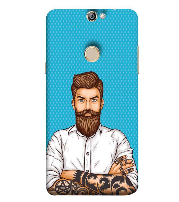 Beard King Back Cover for Coolpad Max A8