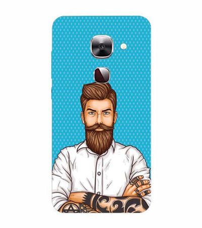 Beard King Back Cover for LeEco Le 2s