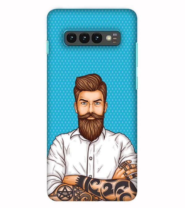 Beard King Back Cover for Samsung Galaxy S10 (6.1 Inch Screen)