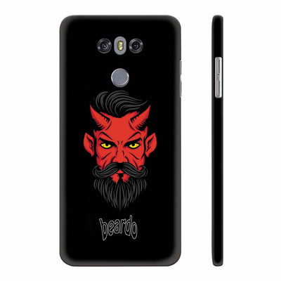 Beardo Stylish Fellow Back Cover for LG G6