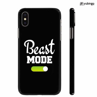 Beast Mode Back Cover for Apple iPhone X
